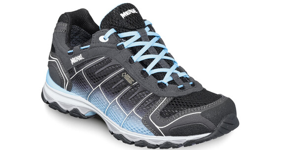 Meindl W's X-SO 30 GTX Shoes Black/Turquoise